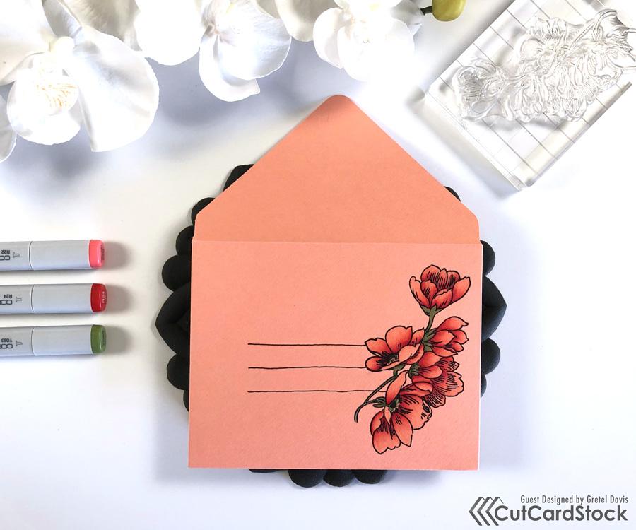 DIY Copic Envelope Art