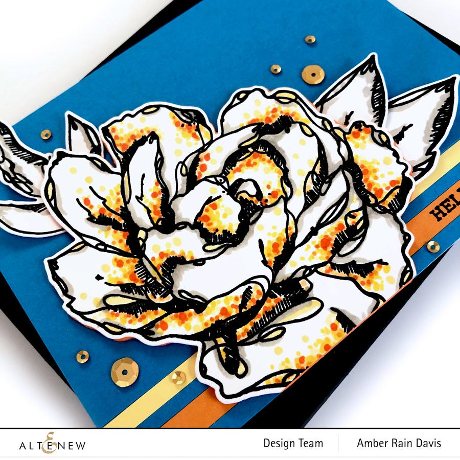 Altenew Inked Flora Stamp & Die Bundle