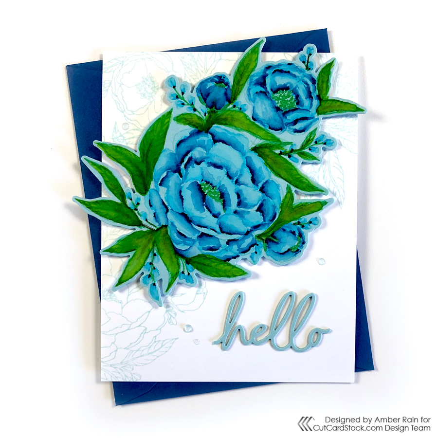Watercolor Colored Cardstock