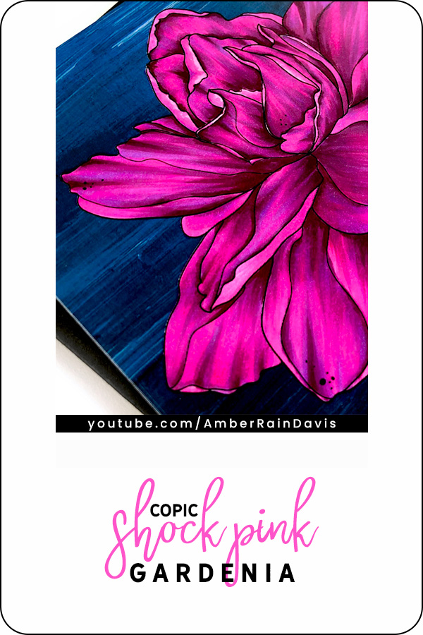 PINTEREST | Copic Shock Pink Sweet Gardenia | Alex Syberia
