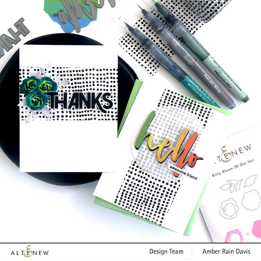 Die-Cuts & Washi Tape Cards