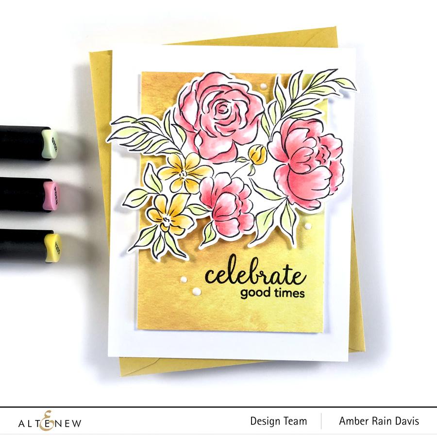 Altenew + Pinkfresh Celebrate Today