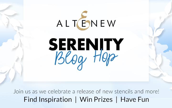Altenew Serenity Release Blog Hop + Giveaway