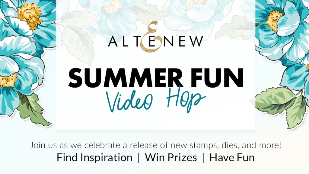 Altenew Summer Fun Video Hop