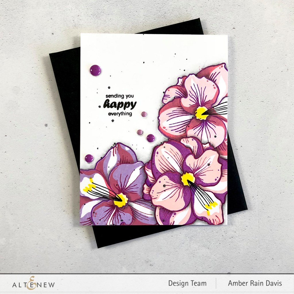 Altenew Amaryllis Stamp Set