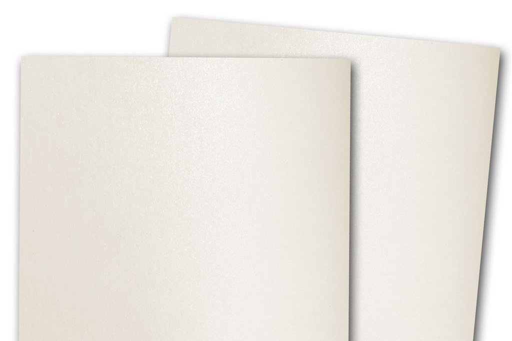 Curious Metallic Cryogen White Cardstock