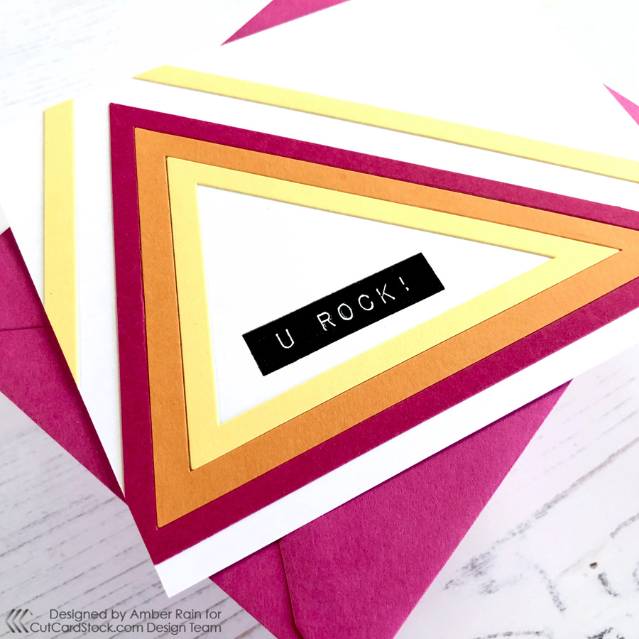 Nested Die Cards