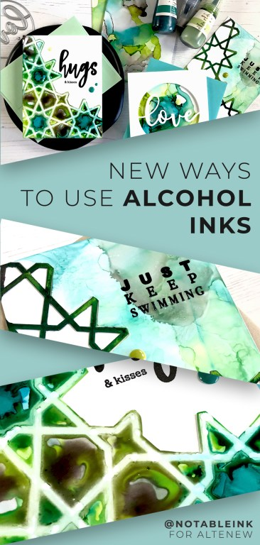 PINTEREST | New Ways to Use Alcohol Ink