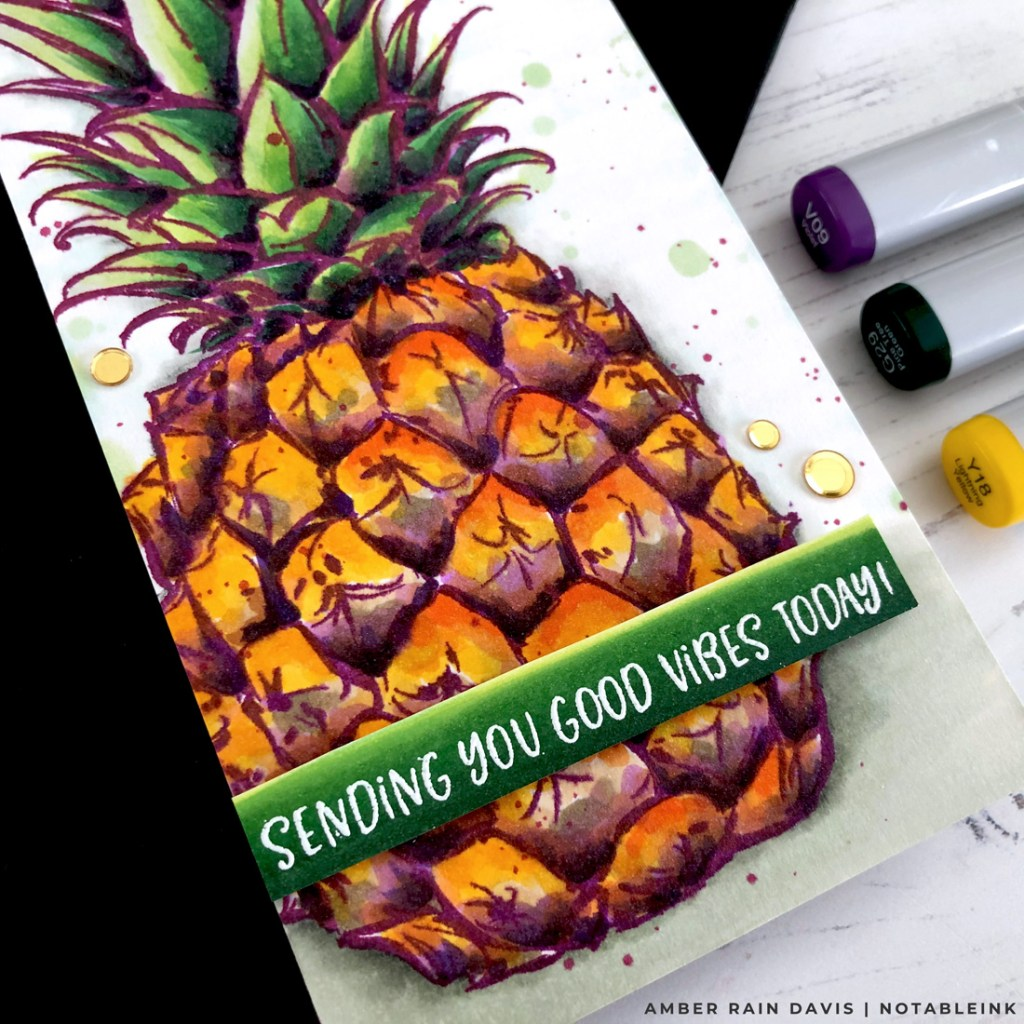 Copic Coloring with a Twist