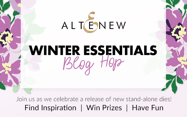 Altenew Stand-Alone Dies Winter Essentials Blog Hop + Giveaway