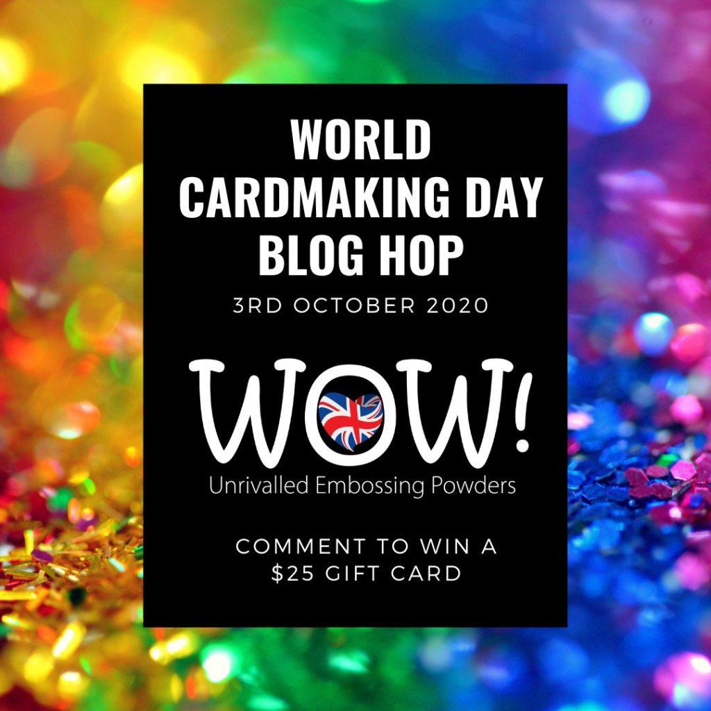 World Cardmaking Day Blog Hop