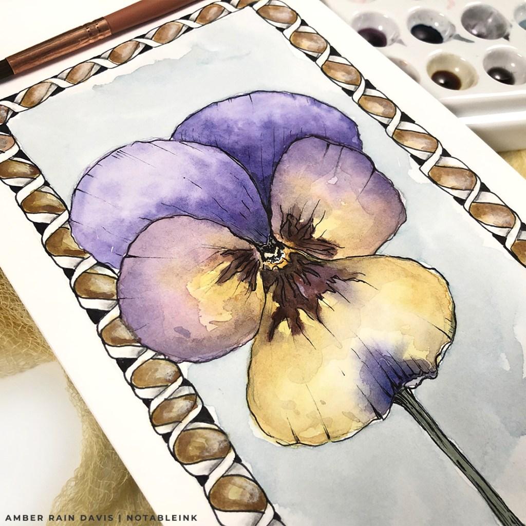 Easy Ink & Wash Viola