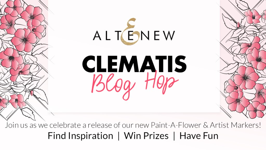 Altenew Paint-A-Flower: Clematis Blog Hop | 10 Tips in 10 Minutes