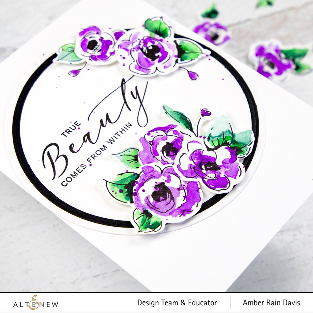 Altenew Painted Flowers | Altenew Educator Hop
