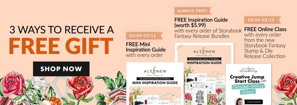 Altenew Storybook Fantasy Free Gift