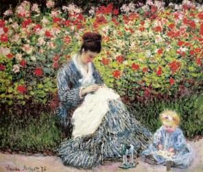 Camille Monet e criança!