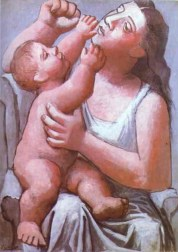 Mother and son ------------ Pablo Picasso
