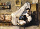 Sorolla y Bastida , Joaquin (Spanish, 1863-1923) - The First Child - 1890
