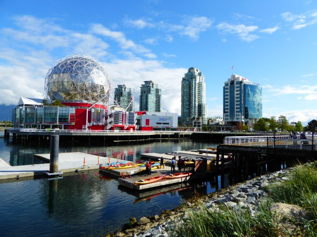 Telus World of Science Dome in Vancouver