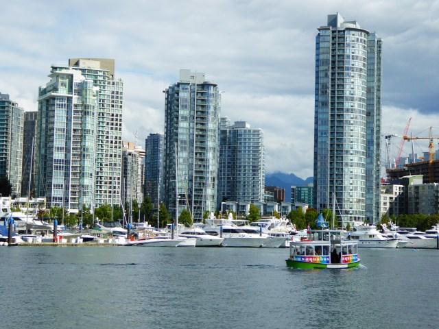 Aquabus on False Creek in Vancouver