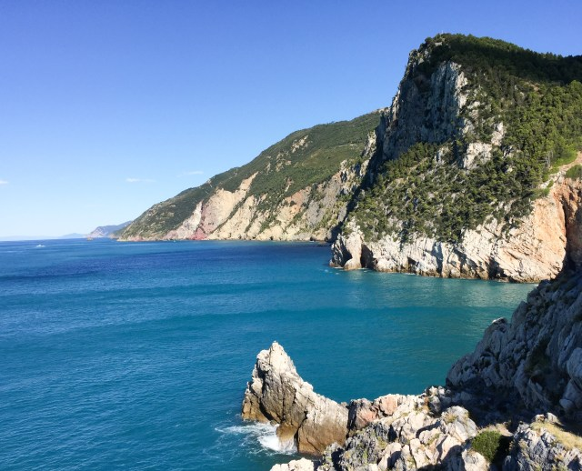The Ligurian Sea, from the Chiesa di San Pietro