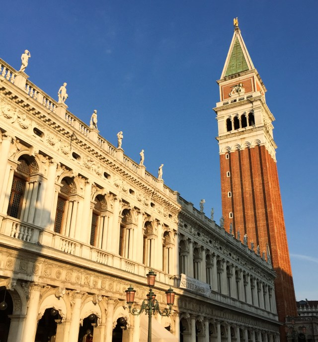 The Campanile di San Marco at Sunrise