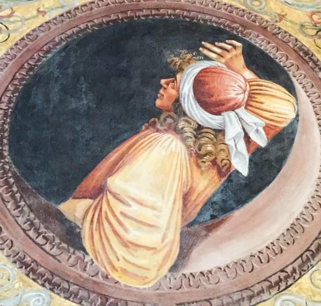 Interior Duomo di Orvieto Italy
