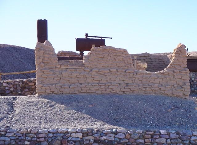 Harmony Borax Works Death Valley National Park California