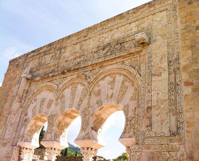 Ruins at Medina Azahara in Cordoba Spain