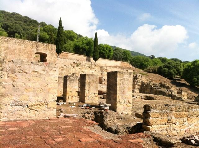 The ruins of Medina Azahara in Cordoba, Spain