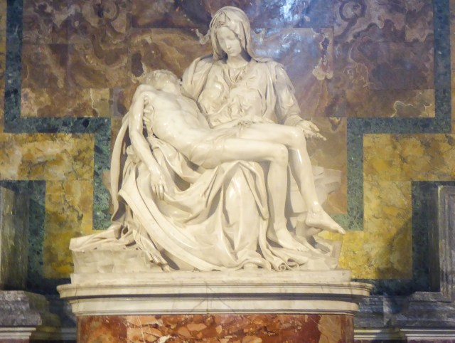 Pieta by Michelangelo in Vatican City