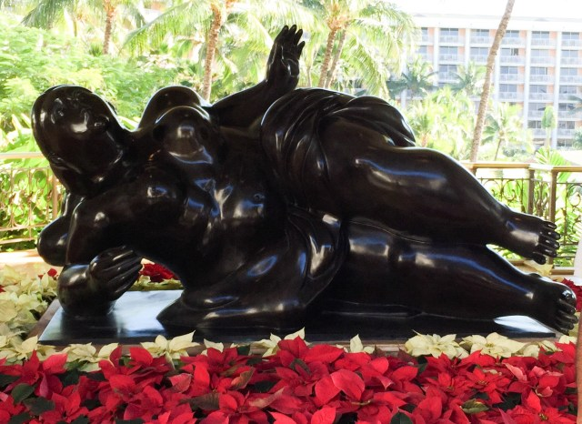 Art on display Grand Wailea Resort Maui Hawaii