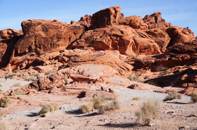 Red rock formation at Valley of Fire