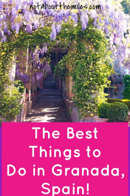 Read my post to discover the best things to do in Granada, Spain! My 3-day guide includes all the highlights, including the world-famous Alhambra.
