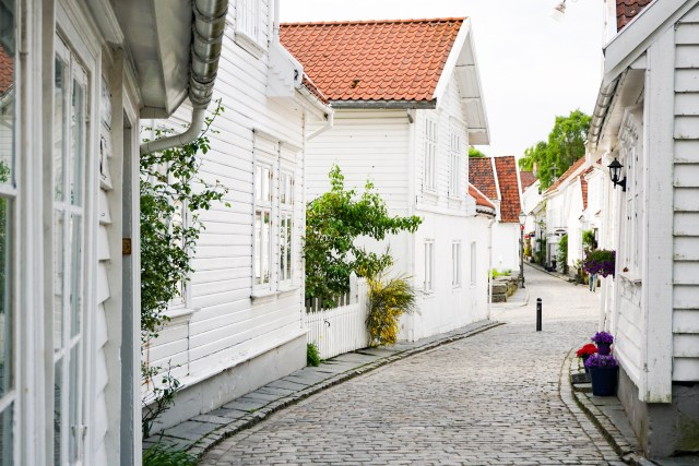 Gamle Stavanger in Stavanger Norway
