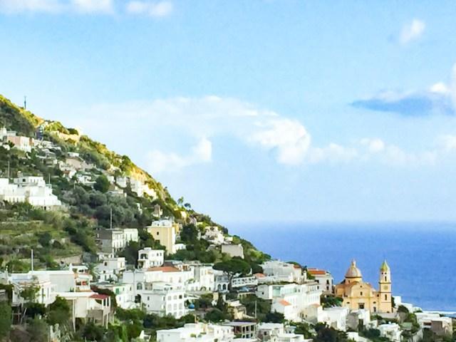 Praiano on the Amalfi Coast of Italy