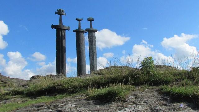 Swords in Rock Stavanger Norway