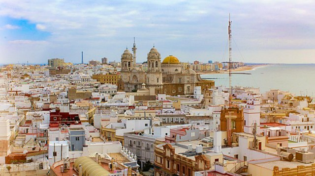 The Cadiz Cathedral, Andalusia, Spain