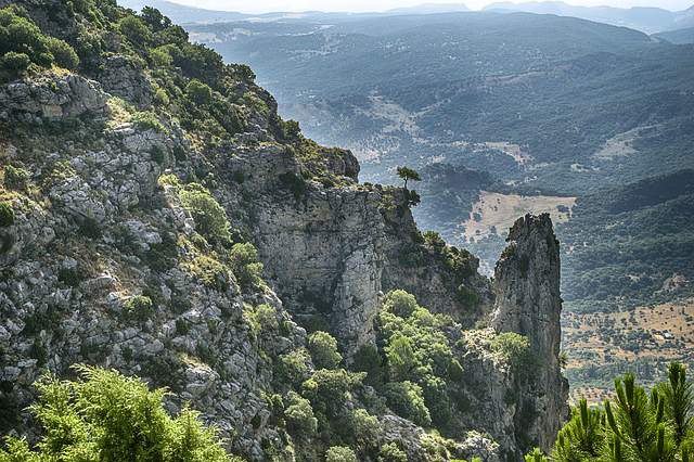 Sierra de la Grazalema Natural Park in Andalusia, Spain