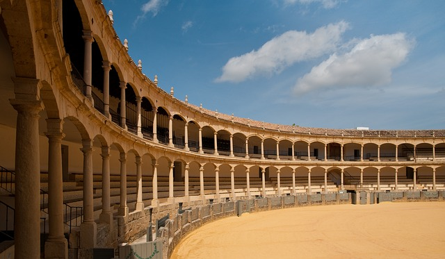 The Bullring in Ronda, Andalusia, Spain