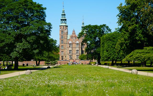 Rosenborg Castle in Copehagen Denmark