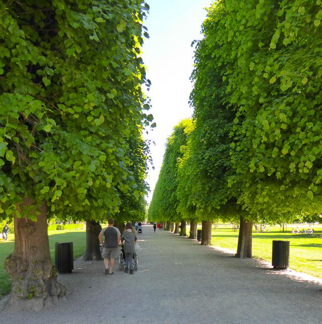 King's Garden Copenhagen Denmark