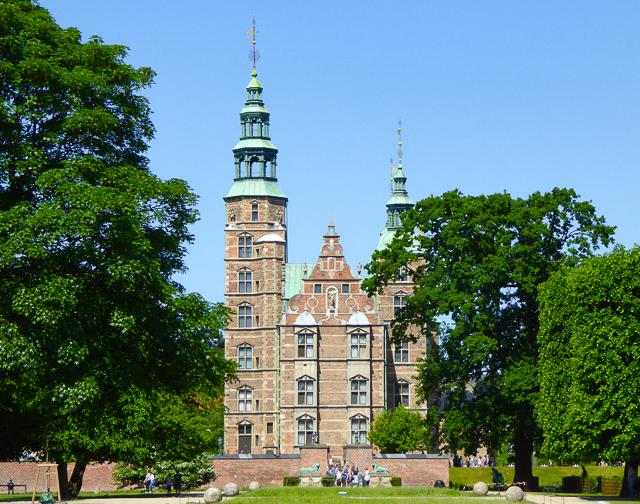 Rosenborg Castle Copenhagen Denmark