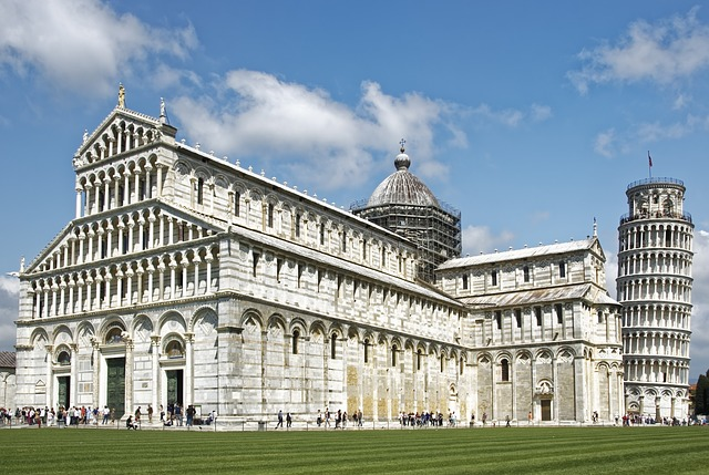 The DuomO Complex at the Field of Miracles in Pisa, Italy