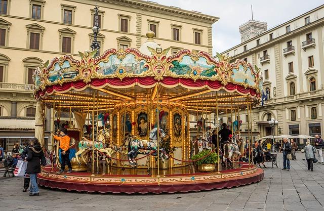 Piazza della Repubblica Firenze Italy