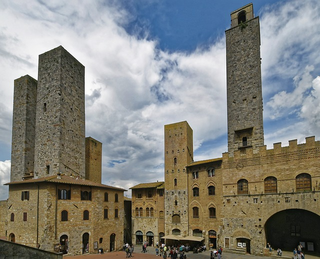 The towers of San Gimignano in Italy