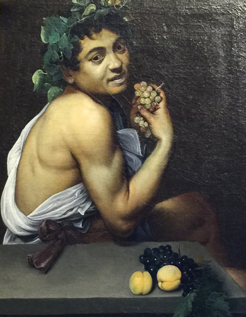 Young Sick Bacchus The Borghese Gallery i...