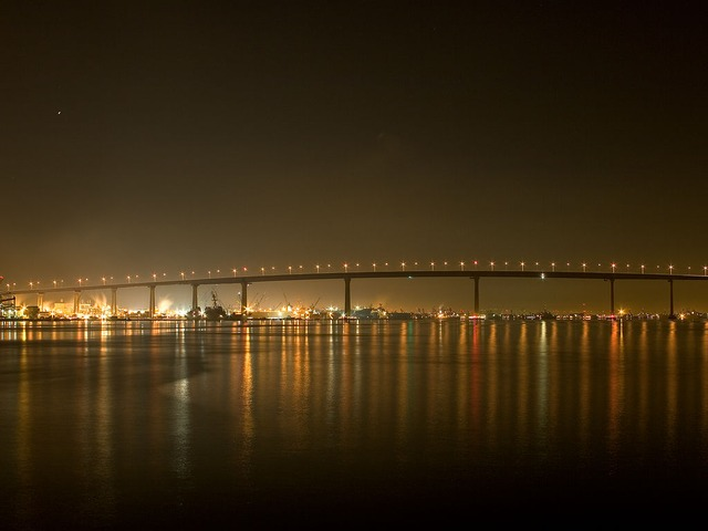 Coronado Bay Bridge, San Diego, California