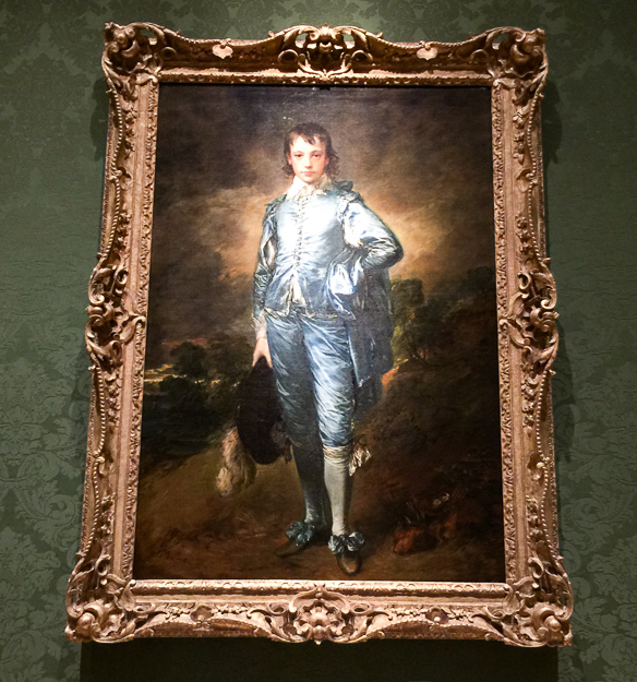 The Blue Boy by Gainsborough Huntington Library and Art Collection Pasadena California