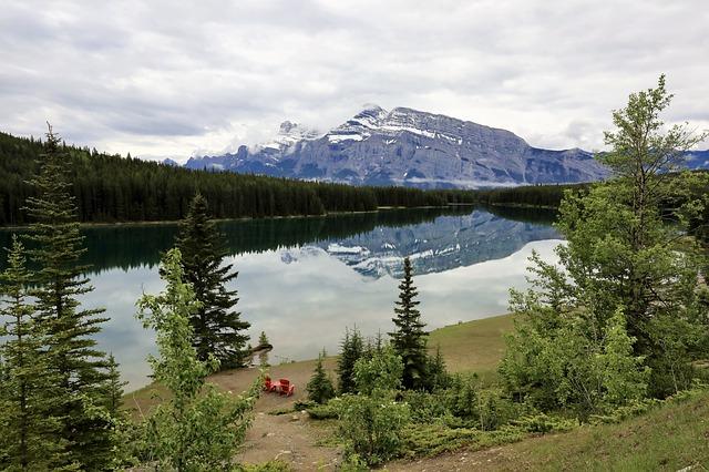 Two Jack Lake Banff National Park Canada